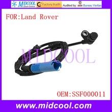 Nuevo Frente ABS Sensor de la Rueda Sensor de Velocidad uso OE No. SSF000011 para Land Rover