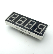 1pcs 0.56 Inch 7 Segment 4 Digit Super Red Clock LED Display Common Anode Time 12 Pins Free Shipping(China (Mainland))