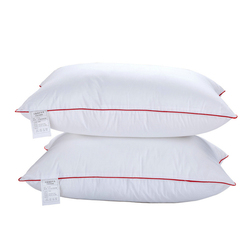 1 Pcs 100% Cotton Neck Pillow High Elasticity Orthopedic Travel Pillows Free Shipping