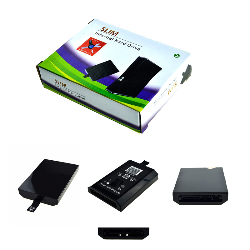 все цены на 500GB 320GB 250GB 120GB 60GB HDD Hard Drive For Xbox 360 Slim Game Console Repair Parts Harddisk For XBOX360 Slim For Microsolf онлайн