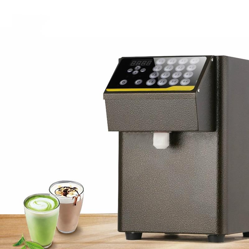 Fructose Quantification Machine Bubble Milk Tea Shop Automatic 16 Grid Coffee Fructose Quantitative Syrup Dispenser