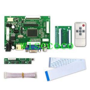 Image 4 - LCD 800*480 TTL LVDS Controller Board VGA 2AV 60 PIN für 7 zoll A070VW04 Unterstützung Automatisch Raspberry Pi fahrer Bord