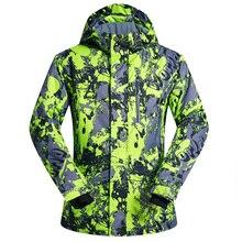 Marque Nouvelle Hiver Ski Vestes Costume Hommes En Plein Air Thermique Étanche Snowboard Vestes Escalade Neige Ski Vêtements