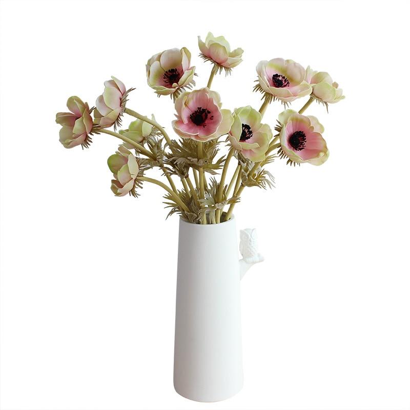 Ev ve Bahçe'ten Yapay ve Kurutulmuş Çiçekler'de 48 adet Anemon Çiçek Ev Dekorasyon Pasque çiçek Düğün yapay çiçek Çiçek Olay Parti Çiçek Ücretsiz Kargo'da  Grup 2