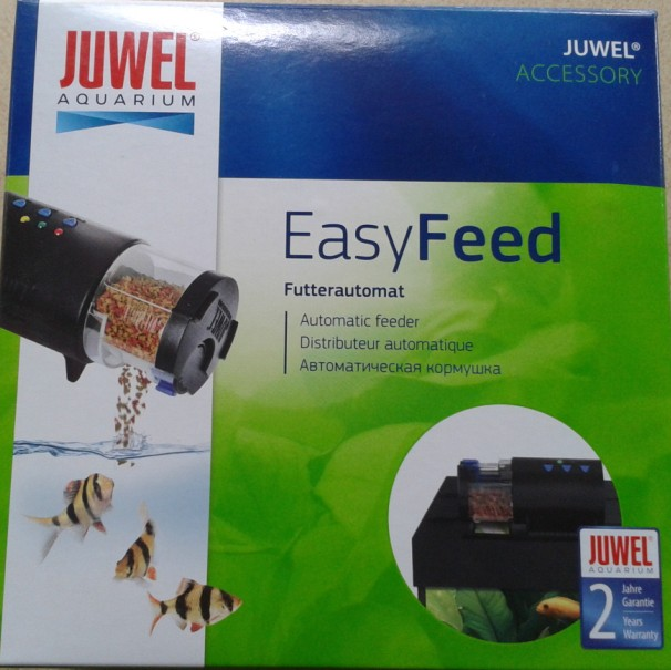juwel easy feed aquarium automatic fish food feeder in feeders from home garden on aliexpress. Black Bedroom Furniture Sets. Home Design Ideas