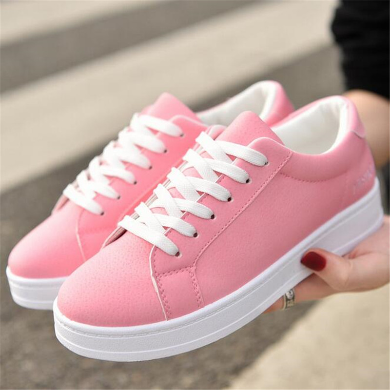 ELGEER Formateurs Filles De Mode Skate Chaussures Casual Chaussures Panier Femme Tenis Feminino Californias Patineuse Sneakers Plate-Forme chaussures