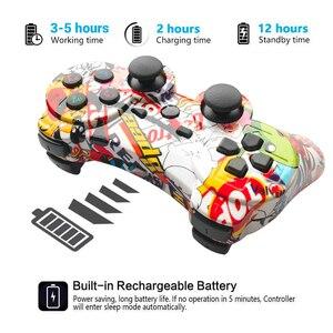 Image 4 - Mando inalámbrico Bluetooth para PS3, compatible con consola ps2, Playstation Dualshock 3