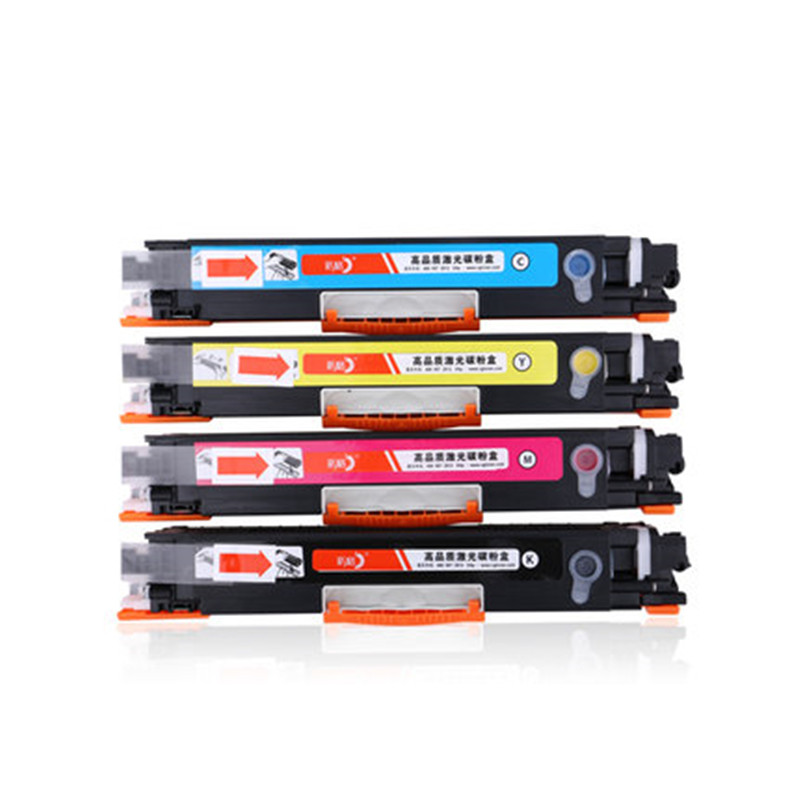 4pk CF350A CF351A CF352A CF353A 130A Color Toner Cartridge for hp 130A 350A Color LaserJet Pro MFP M176n M177fw Printe