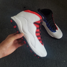 455123259f53 Free shipping Jordan 10 Men Basketball shoes aj 10 Rosso Corsa Crack  Flights Speed Athletic Outdoor