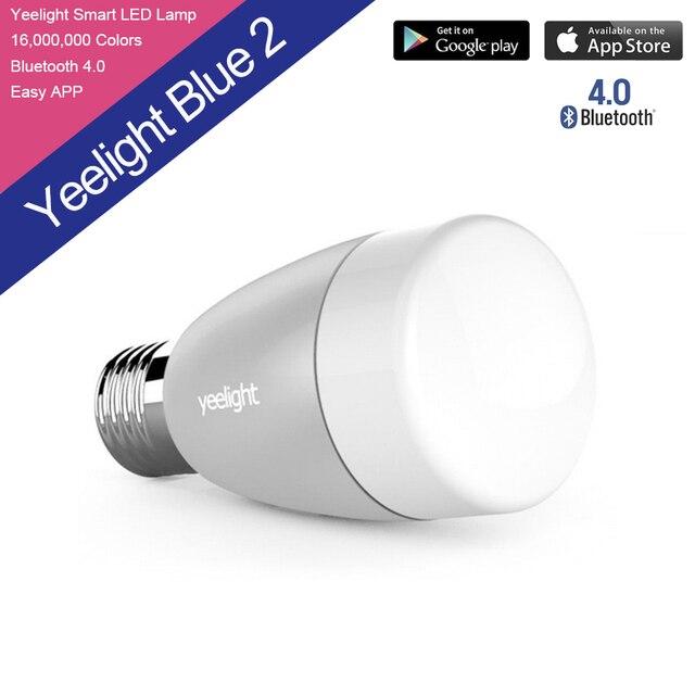 Оригинал Xiaomi Mi Ночь Крытый Yeelight Смарт СВЕТОДИОДНЫЕ Лампы Беспроводной Пульт Дистанционного Управления Свет E27 Белый Smart Домашнего освещения СВЕТОДИОДНЫЕ Лампы