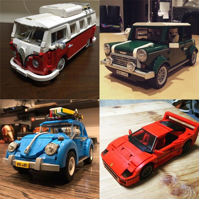 Лепин 21001 21002 21003 21004 21046 дизайн серии Модель Строительный Наборы блоки Наборы кубиков образовательные игрушки автомобиля для мальчиков