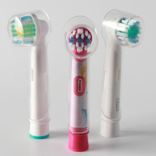 4x Travel Electric Toothbrush Head Protective Cover Case Cap Suit Oral b ToothFT