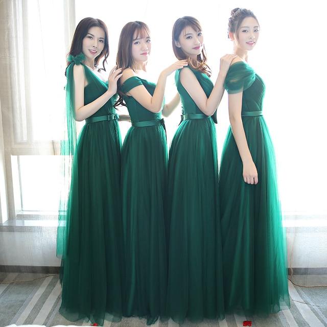 Beauty-Emily Lace Bridesmaid Dress 2