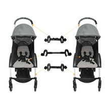 Baby yoya Universal stroller connector for twin baby Applicable to most type Stroller Cart accessories Twin cart