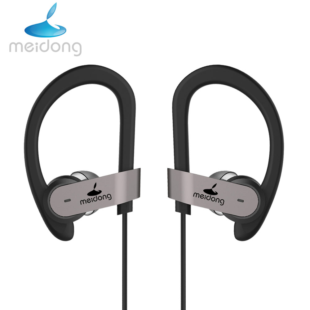 04d25abff56 Meidong HE8C Active Noise Cancelling Bluetooth Earphone Sport Wireless  Earbuds with Microphone APT-X Headset for phone
