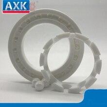 AXK China 6800 6801 6802 6803 6804 6805 6806 6807 6808  full ZrO2 ceramic ball bearing zirconia bearing good quality housing bearing 6200 6201 6202 6203 6204 6205 6206 zirconia full ceramic ball bearings