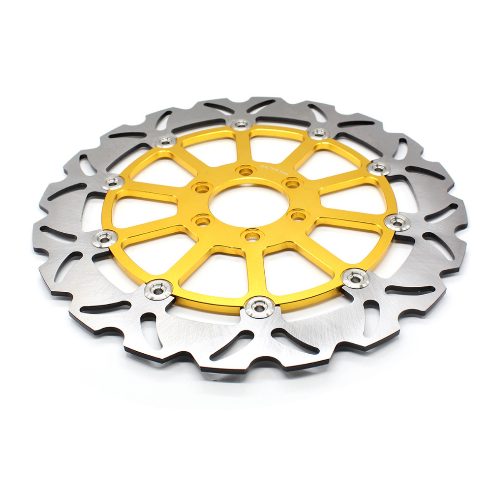 FX Motorcycle 320mm Rear Brake Disc Rotor For KTM 125 200 390 DUKE 2012 2013 2014 2015 2016 Moto Replacement for 2012 2015 ktm 125 200 390 duke motorcycle rear passenger seat cover cowl 11 12 13 14 15