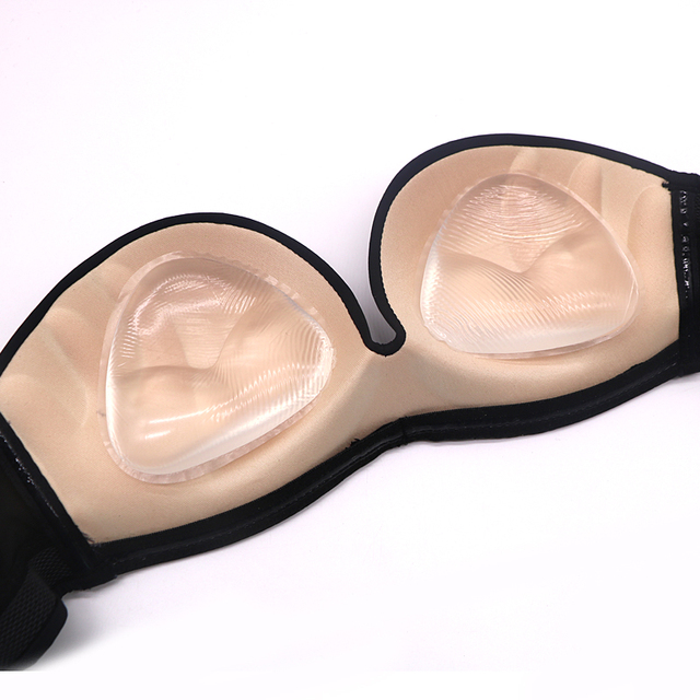 17222b8a76880 1pair Sexy Women Breast Pads Extension Silicone Bra Invisible Inserts Push  Up Bra Insert Breast Bra Pads Enhancer Nipple Cover