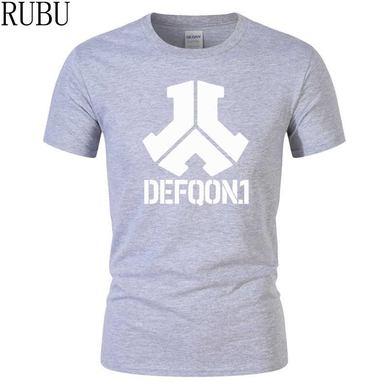7acc6d674a4 ... RUBU brand clothing Defqon 1 Pure Cotton Designer T Shirt Men Tshirts  Hip Hop Mens Short ...
