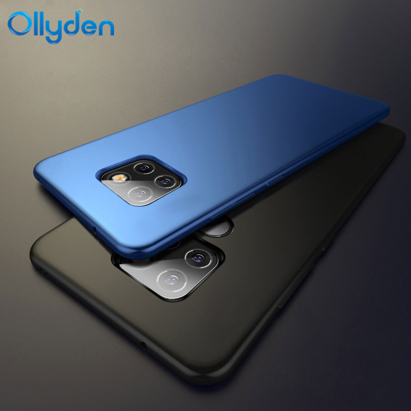 Ollyden for Huawei Mate 20X Case Matte Slim Hard PC Shockproof Back Cover for Huawei Mate 20 X Mate20 Pro Cases Funda Shell