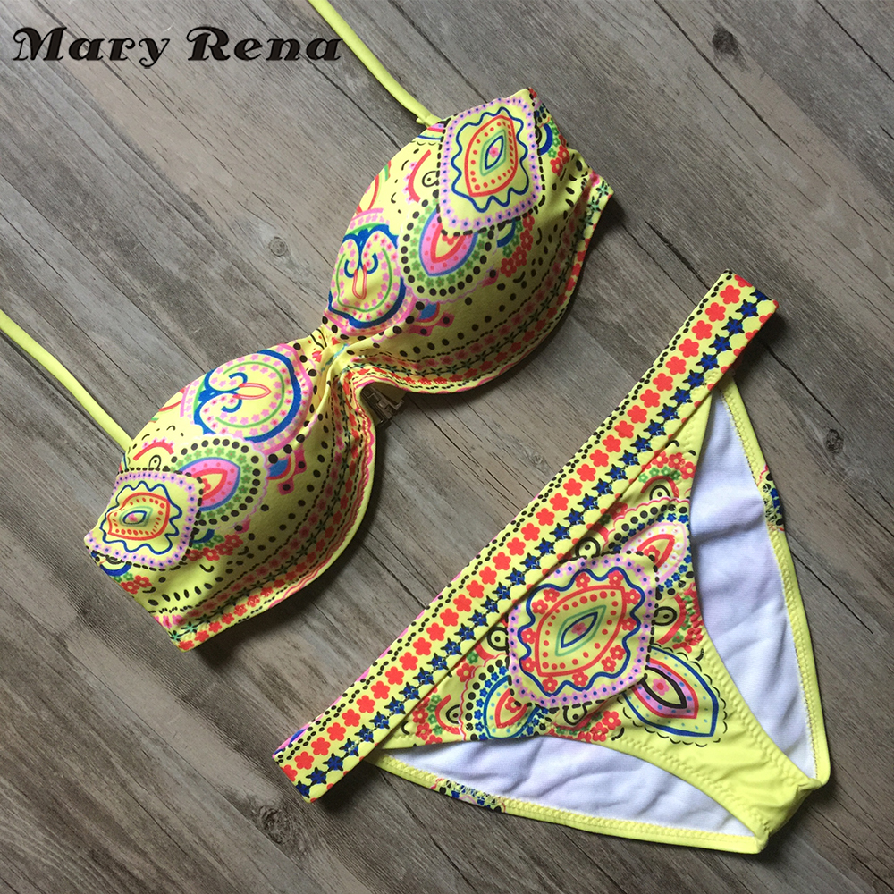 Swimwear Bandage Bikini 2017 Sexy Beach Swimwear Women Swimsuit Bathing Suit Brazilian Bikini Set maillot de bain Biquini Z48 brazilian bikini set 2017 sexy swimwear women bandage bikinis beach bathing suit push up bikini swimsuit biquini maillot de bain