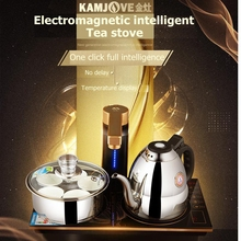 KAMJOVE Q9 Intelligent Magnetron type induction cooker tea art stove kettle Full automatic electric tea stove