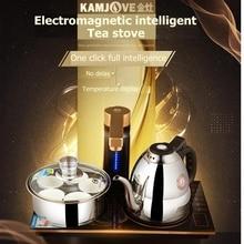 KAMJOVE Q9 Intelligent Magnetron type induction cooker tea art stove kettle Full automatic electric tea stove