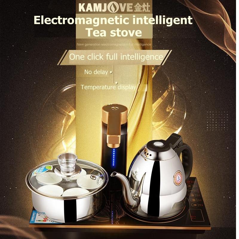 Kamjove Q9 Intelligente Magnetron Type Inductie Fornuis Thee Art Fornuis Waterkoker Volautomatische Elektrische Thee Fornuis