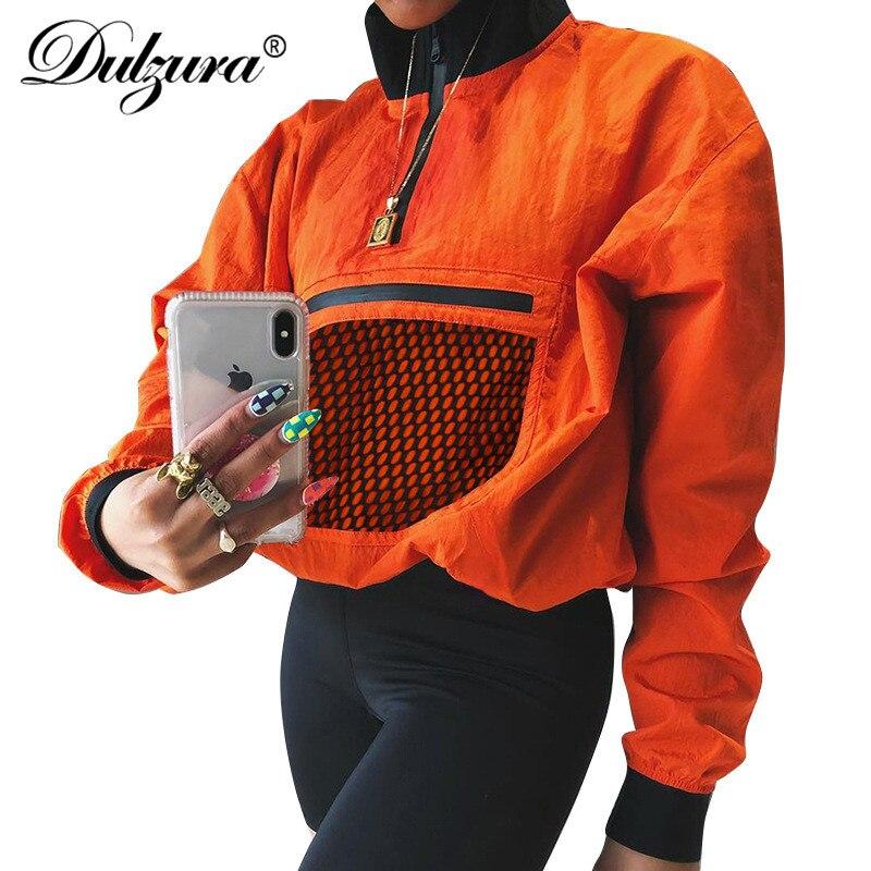 Pullover Sweatshirts Dulzura Zipper Langarm Casual Pullover 2018 Herbst Winter Frauen Sweatshirt Zip Top Extrem Effizient In Der WäRmeerhaltung