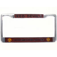 2017 Hot Zinc Alloy Car License Plate Frame For American Plate Club Logo For Manchester Automobile