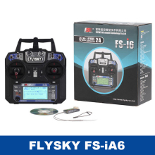 Flysky FS-i6 FS I6 2.4G 6ch RC Transmitter Controller FS-iA6 or FS-iA6B Receiver For RC Helicopter Plane Quadcopter Glider Drone flysky fs sm100 sm100 rc usb flight simulator with fms cable helicopter controller 2 4g for fs th9x fs t6 fs i6 fs i10