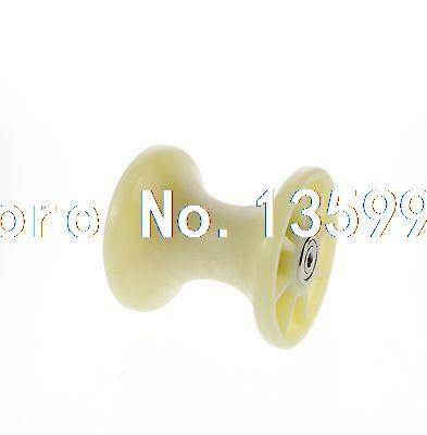6*80*80mm 8080UU U Groove Guide Pulley Sealed Rail Ball Bearing Nylon 1