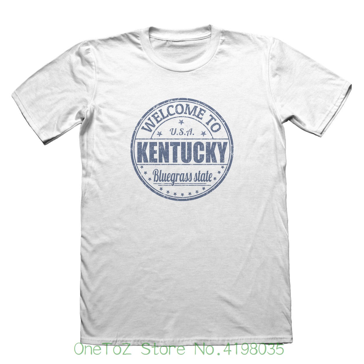 Kentucky Usa America T-shirt - Mens Fathers Day Christmas Gift #6124 2018 Summer T-shirts For Men
