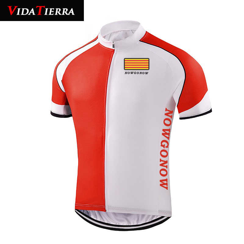 7fb4b9977 Detail Feedback Questions about 2019 VIDATERRA men cycling jersey Catalonia  falg cycling clothing ropa ciclismo racing road mountain lucky I LOVE  Catalonia ...