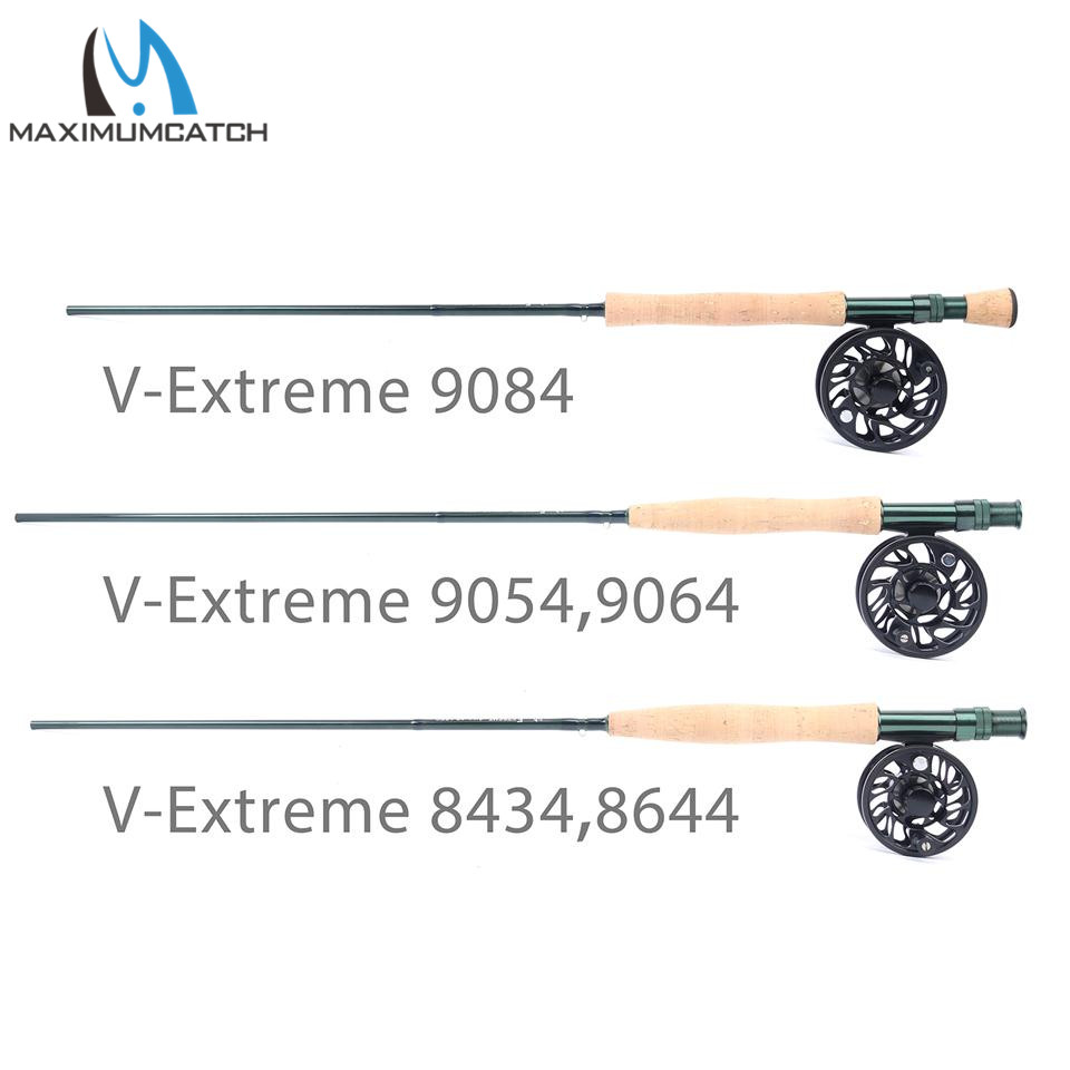 Maximumcatch Extreme Fly Fishing Rod 3/4/5/6/8weight with IM6 Carbon Blank, Hard Chromed Guides, A cork grip japan imported sichuan carbon fishing rod 3 6 4 5 5 4 6 3 meters ultra light ultra hard 28 rod