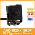 AHD Camera Mini Type HD Sony IMX322 1920 x 1080P 2.0MP 3.7mm Lens Indoor Metal Security Camera CCTV Cam