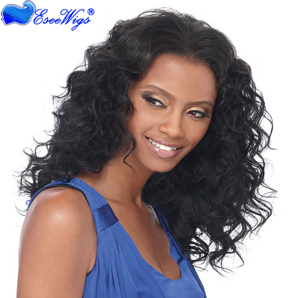 Celebrity style human hair wigs