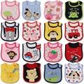 Baby Girl Boy Waterproof Carter Cartoon Towel Kids Toddler Dinner Feeding Bibs baberos Bandanas Burp Cloths Free Shipping