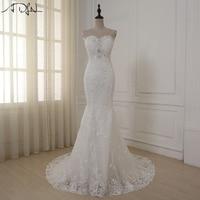 2016 New Arrival Robe De Mariage Cheap Wedding Dress A Line Bridal Dresses Tulle Vestidos De