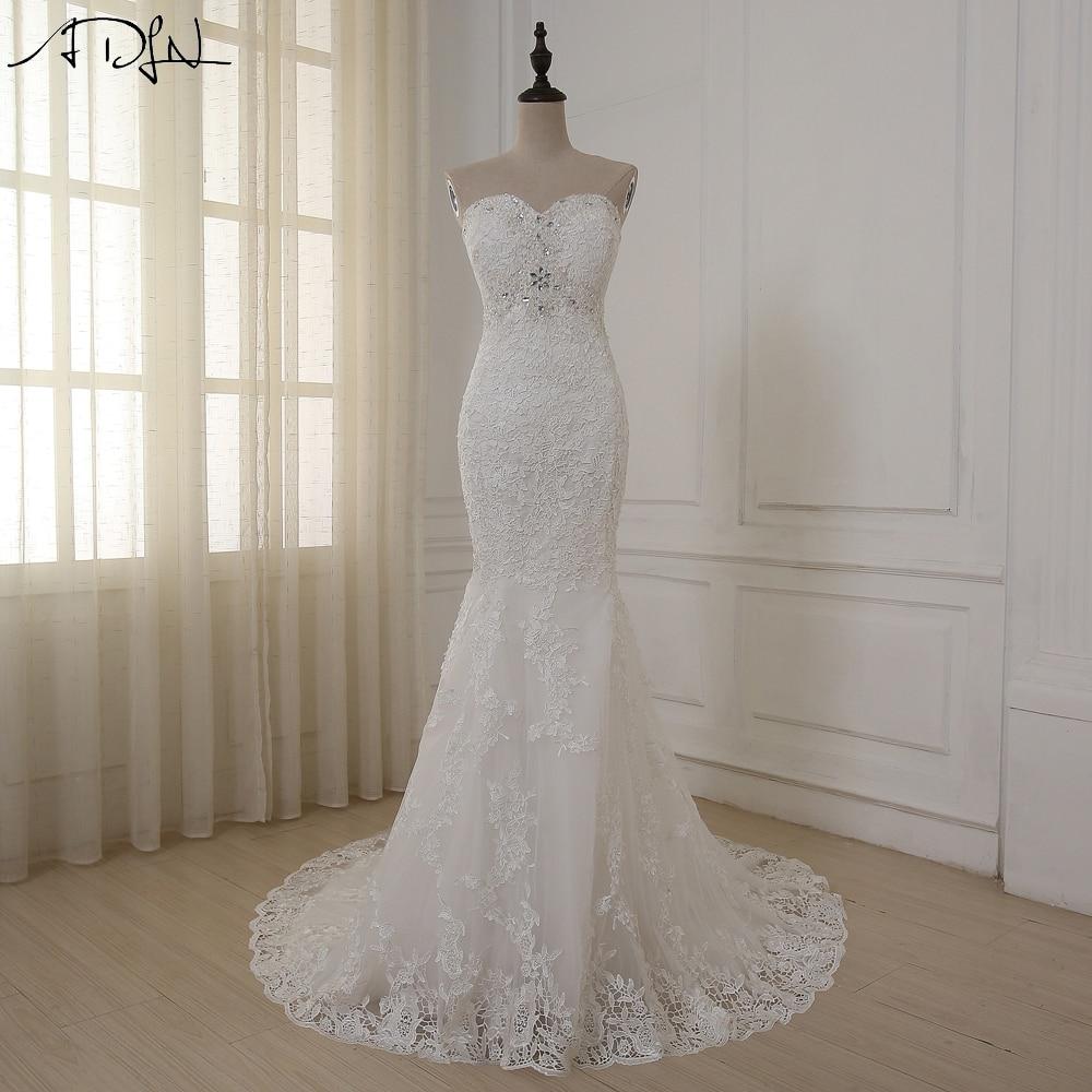 2016 Baru Kedatangan Jubah De Mariage Murah Wedding Dress A Line - Gaun pengantin