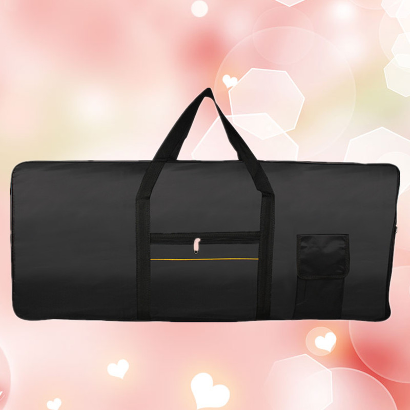 High Quality Portable Professional 61 Keys Keyboard bag Electric Piano Organ Padded Case Gig cover Durable waterproof package new top quality professional portable durable oboe hard case bag hand made nice work waterproof leather instrument box package