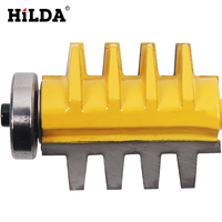HILDA Wood Router Bit 1 4 Shank Alloy Mortise Template Joint And Rail Stile Finger 1