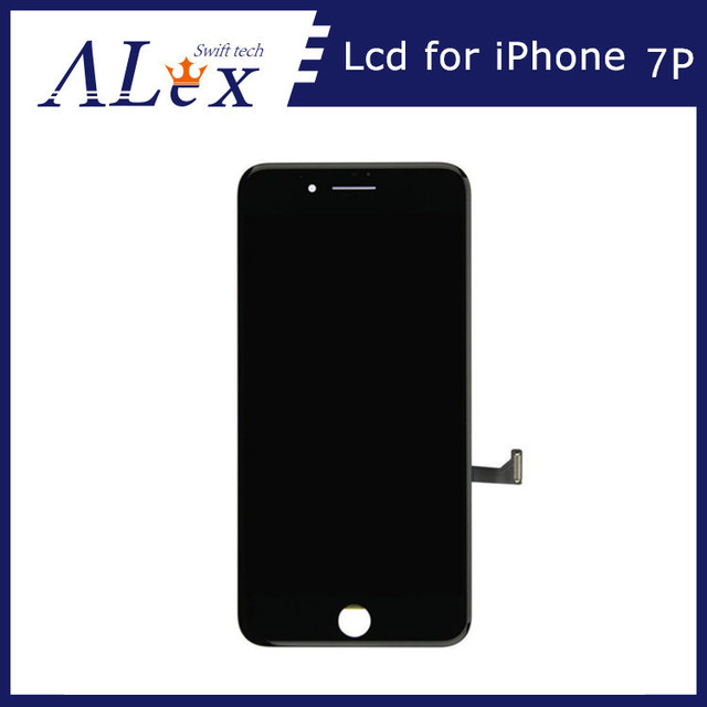 new product 12cf4 7f617 US $215.0  10pcs LCD Display + Touch Screen Digitizer + Frame Assembly for  iPhone 7 Plus (Black&white) + Free DHL wholesale price-in Mobile Phone LCDs  ...