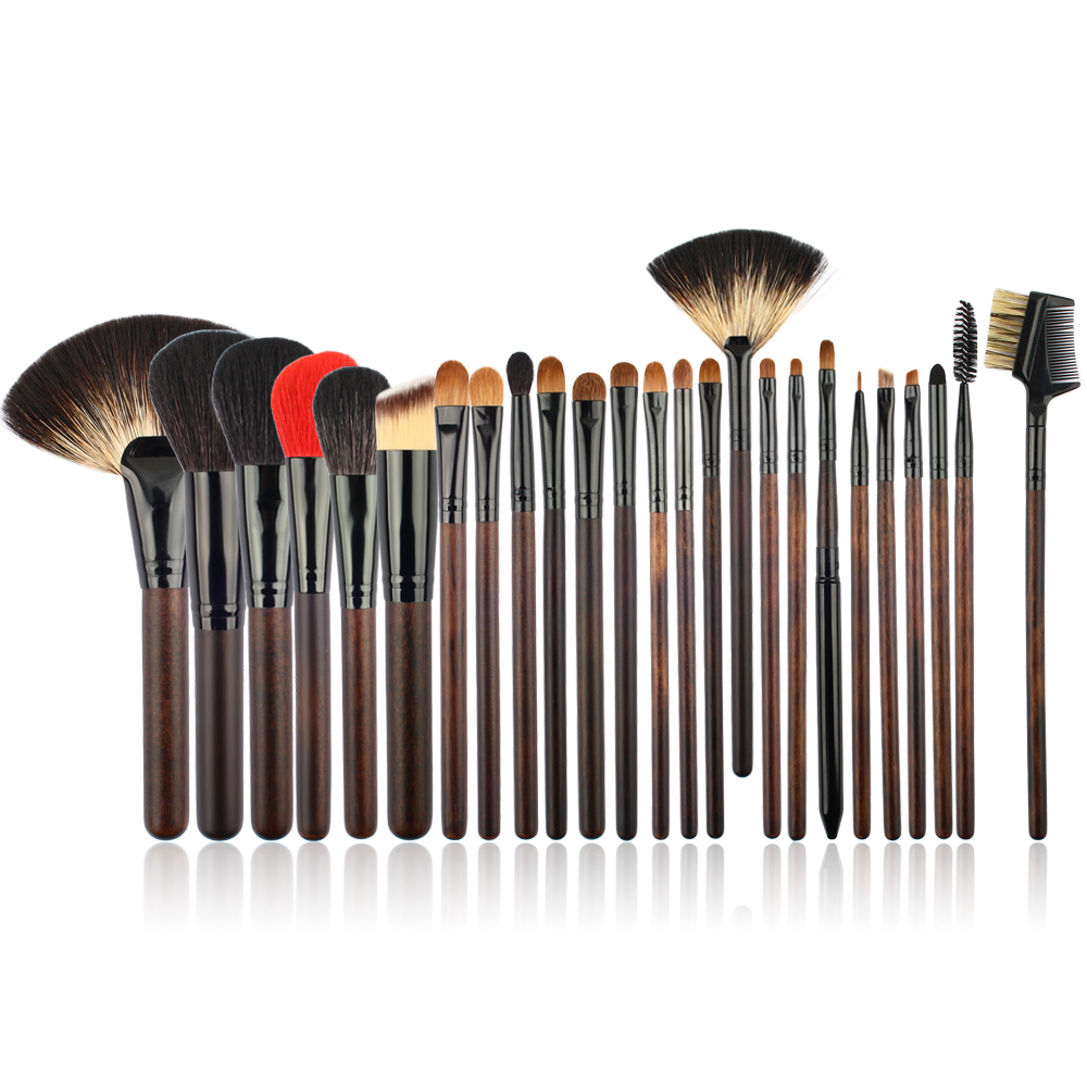 ISMINE Makeup Brush Set Powder Foundation Brush 25Pcs Professional Face Eyeshadow Make Up Brushes Cosmetic Tool with Woven Bag new lcbox professional 16 pcs makeup brush set kit pouch bag cosmetic brush kit cosmetic powder foundation eyeshadow brush tools