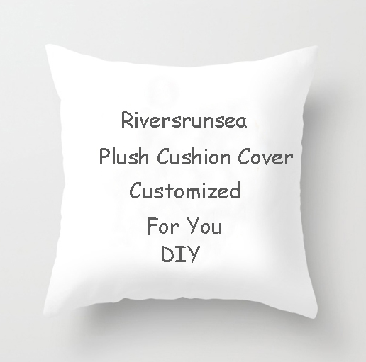 Wholesale Customized Your Pictures Texts Designs Photos Unique Diy Throw Pillow Personalized One Side Printed Blank Cushion(China)