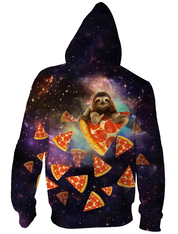 Fine Raisevern Dinosaur Sloth Galaxy Euro Size Men Hoodies Sweatshirts 3d Print Zipper Sweatshirts Cap Tops Men Hooded Nebula Jacket Men's Clothing