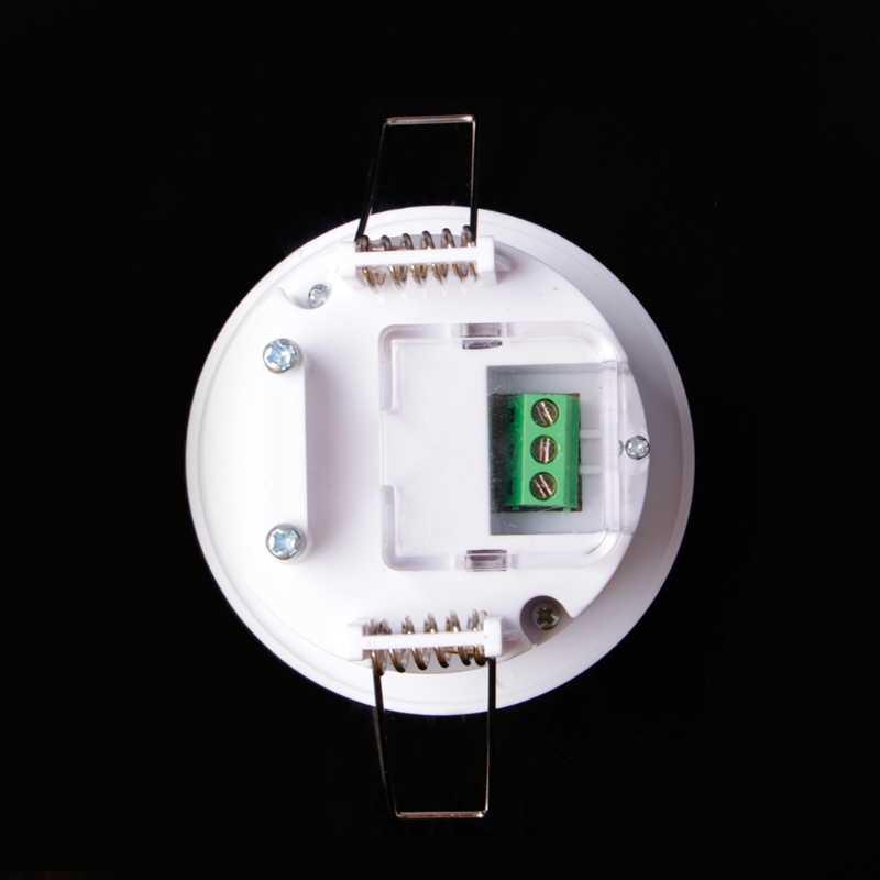 110-240 В AC Регулируемый 360 Dgree Потолок PIR инфракрасный датчик движения тела Детектор лампа светильник переключатель