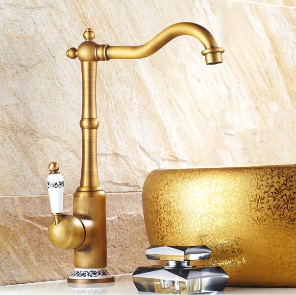 ФОТО Antique bathroom faucet torneira banheiro basin faucet vintage bathroom sink faucet antique mixer water tap basin mixer water