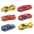 1:24 escala rc 2ch coche modelo kids toys regalo de navidad para niños de simulación de coches de control remoto al azar enviado