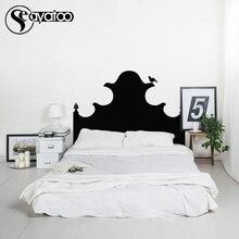 Vintage Headboard Bed Board Bedroom Chalkboard Blackboard Vinyl Wall Sticker Decal Stickers 68x155cm
